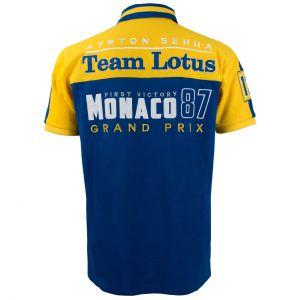 Ayrton Senna Polo Monaco 1st Victory 1987 Yellow
