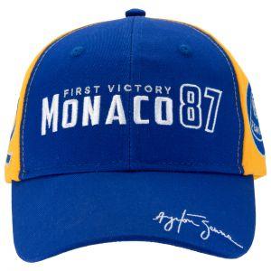 Boné 1ª Vitória em Mônaco 1987