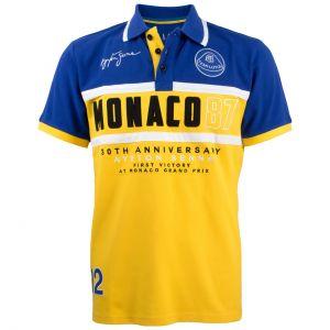 Poloshirt Monaco 1987 blau