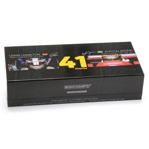 Modelcar Set - Lewis Hamilton 41 Victories 1/43