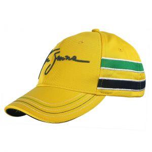Ayrton Senna Cap Senna Helmet left