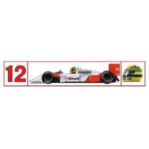 Aufkleber McLaren 1988
