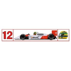 Наклейка McLaren 1988