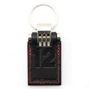 Leather Keyring McLaren
