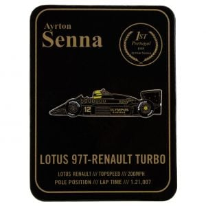 Ayrton Senna Pin Classic Team Lotus