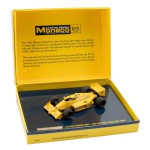Ayrton Senna Lotus 99T Minichamps Monaco 1987 1:43