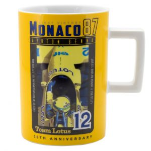 Ayrton Senna Mug Monaco 1st Victory 1987