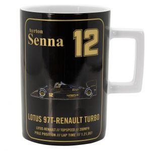 Ayrton Senna Mug Classic Team Lotus