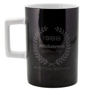 Ayrton Senna Tasse Three Times World Champion