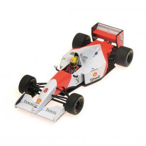 Ayrton Senna McLaren MP4/8 Minichamps 1/43 top