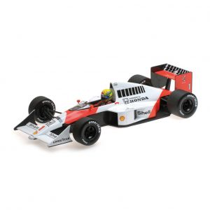 Ayrton Senna McLaren Mp4/5 Minichamps car