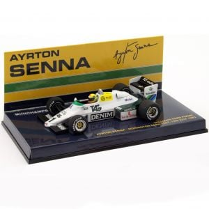 Ayrton Senna Williams Ford FW08C #1 Donington Park Test Formel 1 1983 1:43