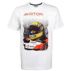 McLaren T-Shirt World Champion 1988 weiß