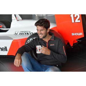 Mug Senna Three Times World Champion McLaren white model