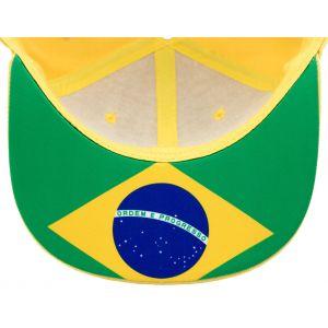 Ayrton Senna Cap Senna Brasil Flag Flat Brim