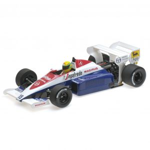 Toleman Hart TG183B - Monaco GP 1984 1:18