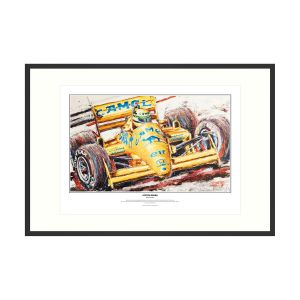 Lotus 1987 Artprint by Armin Flossdorf