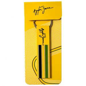 Ayrton Senna Keyring Loop Helmet