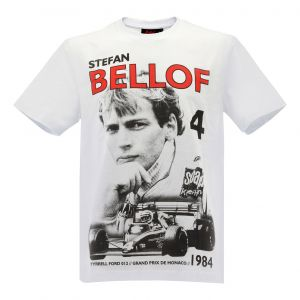 Stefan Bellof T-Shirt Podium GP Monaco 1984