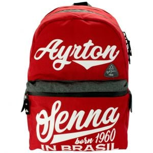 Ayrton Senna Backpack Born in Brasil