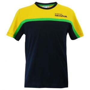 Ayrton Senna T-Shirt Racing