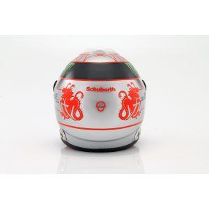 Michael Schumacher Helmet platin 1:2 scale back