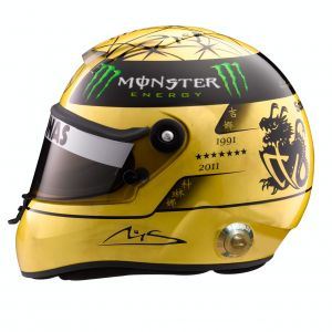 Michael Schumacher Helmet 1:2 scale sideview 2