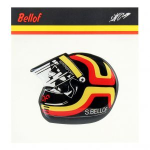 Stefan Bellof Sticker Helmet