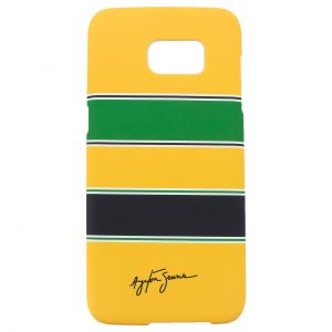 Ayrton Senna Phone Case Helmet Galaxy S7 Edge