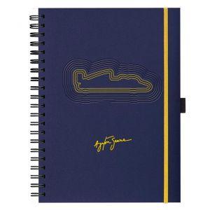 Caderno Assinatura Azul Marinho
