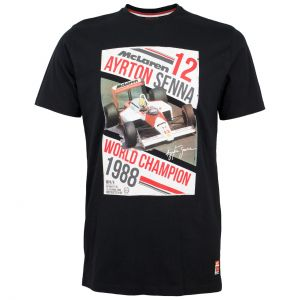 Ayrton Senna T-Shirt World Champion 1988
