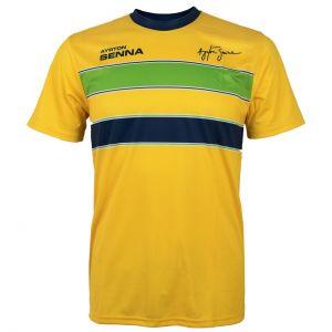 Ayrton Senna T-Shirt Helmet