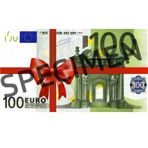 Подарочный купон на 100 Евро