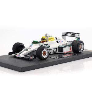 Ayrton Senna Williams Ford FW08C Donington Park Test 19. Juli 1983 1:18