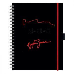 Caderno Assinatura Preto