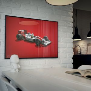 McLaren MP4/4 Colors of Speed Poster