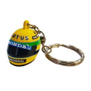 Ayrton Senna Keyring 3d Helmet 1987
