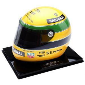 Bercy – França ELF Master Karting Indoor – Miniatura do Capacete de Ayrton Senna (1993)
