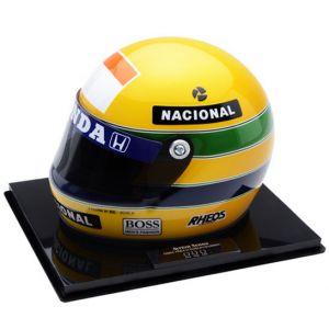 Bi Campeonato Mundial na F1 – Miniatura do Capacete de Ayrton Senna (1990)