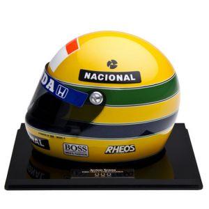 GP Brasil – Miniatura do Capacete de Ayrton Senna (1991)