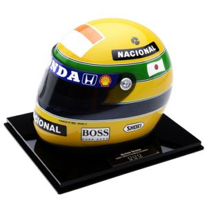 Japan GP – Miniatura do Capacete de Ayrton Senna (1992)