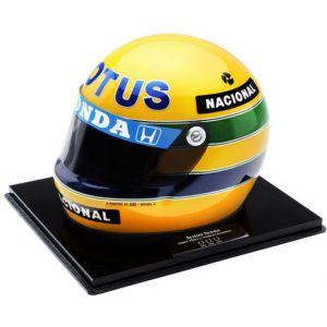 Primeira Vitória Mônaco – Miniatura do Capacete de Ayrton Senna (1987)