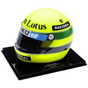 Primeira Vitória na F1 - Miniatura do Capacete (1985)