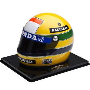 Primeiro Campeonato Mundial – Miniatura do Capacete de Ayrton Senna (1988)