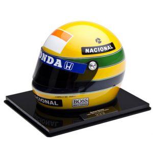 Tri Campeonato Mundial F1 – Miniatura do Capacete de Ayrton Senna (1991)