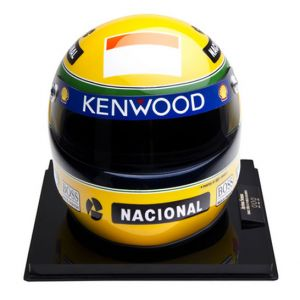 Últimas Vitórias (McLaren) – Miniatura do Capacete de Ayrton Senna (1993)