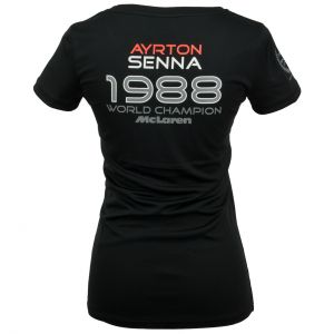 Ayrton Senna Damen T-Shirt McLaren World Champion 1988