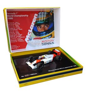 Ayrton Senna McLaren Honda MP4/4 Formel 1 Japan GP 1988 1:43