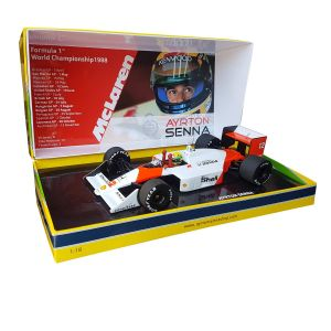 Ayrton Senna McLaren Honda MP4/4 1:18 Japan GP 1988