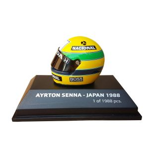 Ayrton Senna World Champion Helmet 1988 Scale 1/8
